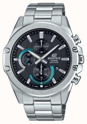 Casio |大厦|经典|计时码表|钢手链| EFR-S567D-1AVUEF