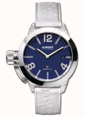 U-Boat Classico 40 SS蓝白钻石 7077