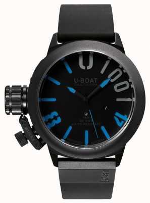 U-Boat Classico 47 1001 ipb蓝色橡胶表带 7541