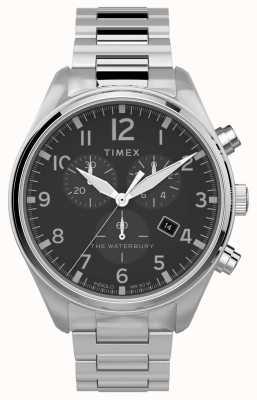 Timex |沃特伯里传统计时表42mm |不锈钢 TW2T70300