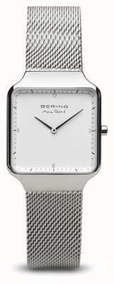 Bering | maxrené|女士抛光银|钢网手链| 15832-004
