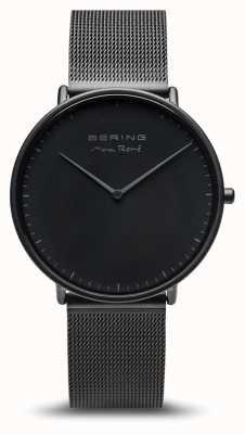 Bering | maxrené|男士凉席黑色|黑色钢手链| 15738-123