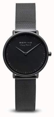 Bering | maxrené|女式垫黑色|黑色钢网手链| 15730-123