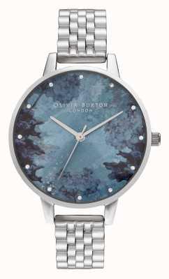 Olivia Burton |女士|在海下|蓝珊瑚表盘| OB16US06