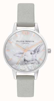 Olivia Burton |女士|冬季仙境|雪花水晶兔子| OB16WL86