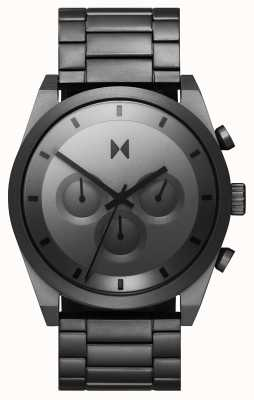 MVMT 计时码表|灰色不锈钢手链|灰色表盘 28000048-D