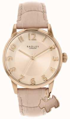 Radley 利物浦街|粉色皮革表带|粉色表盘| RY2872