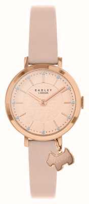 Radley 塞尔比街|粉色皮革表带|玫瑰金/玫瑰金表盘| RY2864