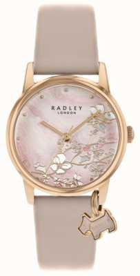 Radley 植物花卉|裸色皮革表带|粉色花卉表盘| RY2884