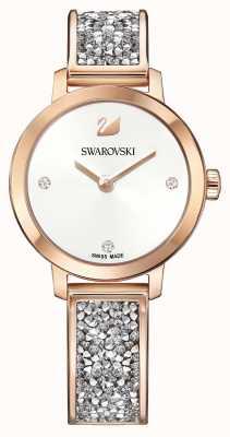 Swarovski |宇宙岩石|玫瑰金手镯|白色表盘| 5376092