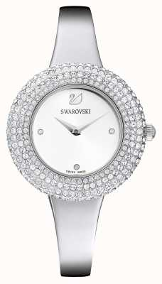 Swarovski |水晶玫瑰|不锈钢手链|白色表盘| 5483853