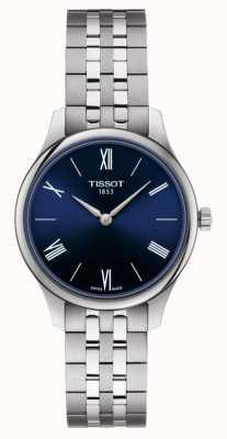 Tissot |传统|女士不锈钢手链|蓝色表盘| T0632091104800