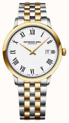 Raymond Weil  男士托卡塔 二音不锈钢 银表盘  5485-STP-65001