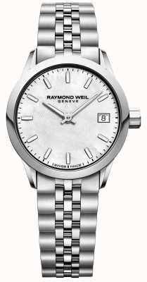 Raymond Weil 女装自由职业者|珍珠贝母表盘|不锈钢 5626-ST-97021