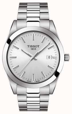 Tissot |绅士不锈钢手链|银表盘| T1274101103100