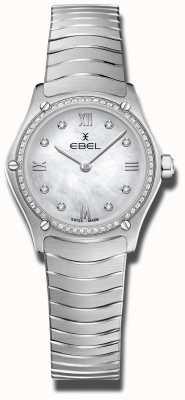 EBEL |女子运动经典|不锈钢|镶钻表盘 1216475A