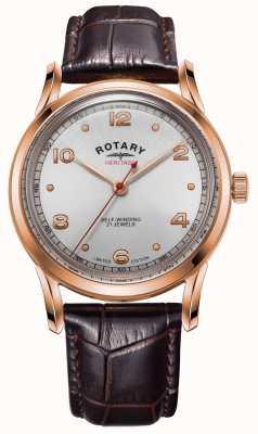 Rotary 男士限量版传承 玫瑰金表壳  GS05144/70