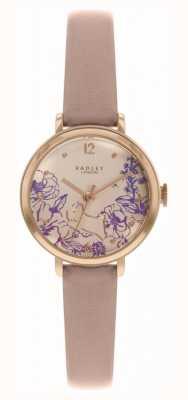 Radley |妇女的裸皮表带|印花表盘| RY2980