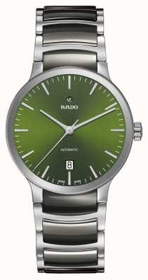 RADO Centrix自动高科技陶瓷绿色表盘 R30010312