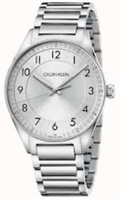 Calvin Klein  明亮不锈钢手链 银表盘  KBH21146