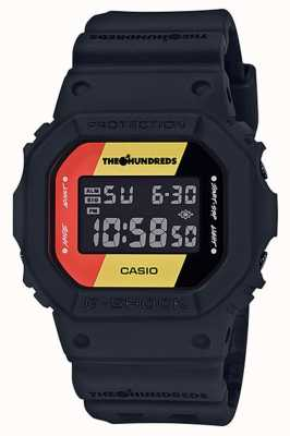 Casio G-SHOCK百周年纪念15周年限量版 DW-5600HDR-1ER