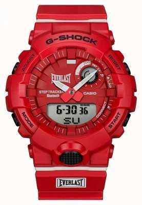 Casio G-shock |永恒蓝牙|红色 GBA-800EL-4AER