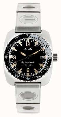 Alsta Nautoscaph 1970年超自动上链金属手链 SUPERAUTOMATIC-BRACELET