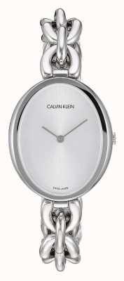 Calvin Klein |妇女声明|不锈钢链条手链| K9Y23126