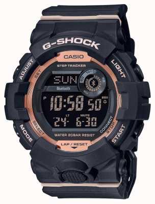 Casio G-shock | g队|黑色橡胶表带|蓝牙 GMD-B800-1ER