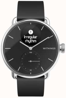 Withings Scanwatch硅胶表带38毫米-黑色 HWA09-MODEL 2-ALL-INT