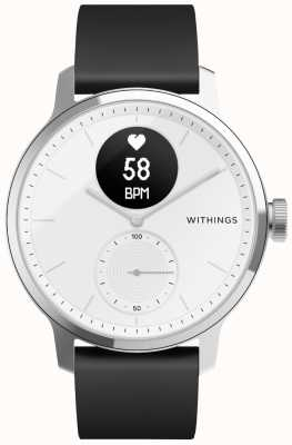 Withings Scanwatch 42mm-白色 HWA09-MODEL 3-ALL-INT