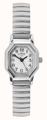 Limit 女士不锈钢手链|白色/银色表盘 60122.38