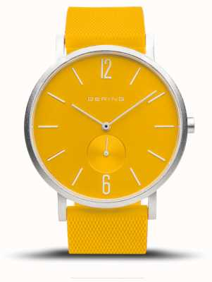 Bering 真正的极光|黄色橡胶表带|黄色表盘 16940-609