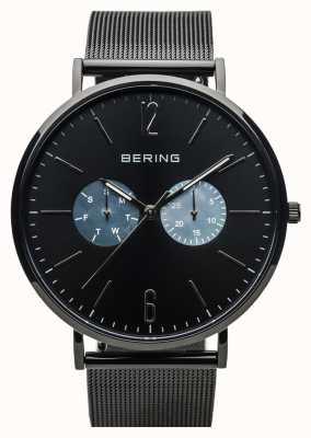 Bering 男女皆宜的经典|黑色|黑色网带 14240-123