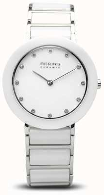 Bering 女士陶瓷|白色陶瓷手链|白色表盘 11434-754