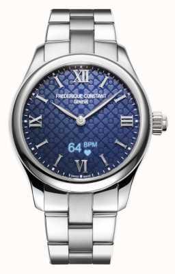 Frederique Constant 女装活力|智能手表|蓝色表盘|不锈钢 FC-286N3B6B