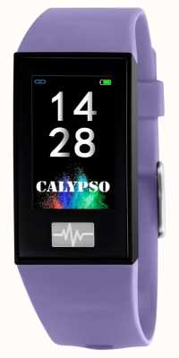 Calypso 男女皆宜| smartime |紫色硅胶表带+免费表带 K8500/2
