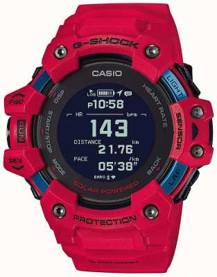 Casio G-shock | g队|心率监测器|蓝牙|红色| GBD-H1000-4ER