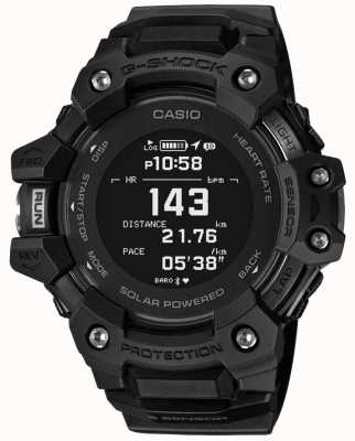 Casio | g-shock | g队|心率监测器|蓝牙|黑色| GBD-H1000-1ER