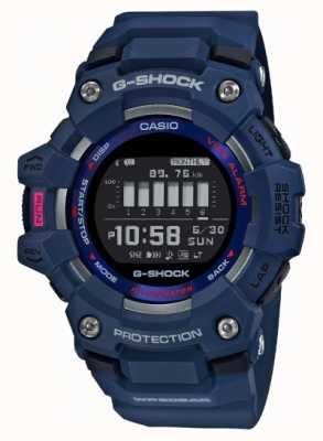 Casio G-shock   g队 踏步机 蓝牙 蓝色 GBD-100-2ER