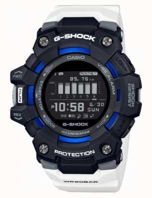 Casio G-shock | g队|踏步机|蓝牙|白色 GBD-100-1A7ER