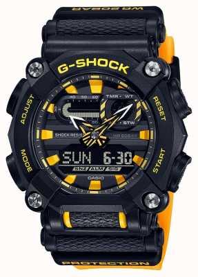Casio G-shock |公司版|重型|世界时间|黄色 GA-900A-1A9ER