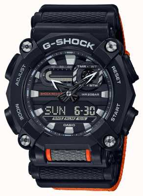 Casio G-shock |公司版|重型|世界时间|橙子 GA-900C-1A4ER