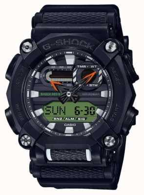 Casio G-shock |公司版|重型|世界时间|黑色 GA-900E-1A3ER