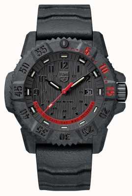 Luminox Master Carbon Seal 3800限量版黑色和红色 XS.3801.EY