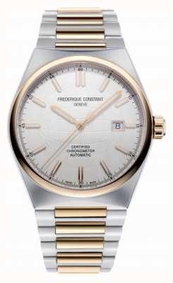 Frederique Constant 高生活|自动|钢手链|多余的皮带| COSC FC-303V4NH2B