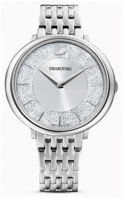 Swarovski 结晶|不锈钢手链|银色闪光表盘 5544583