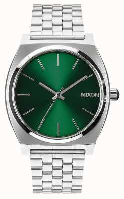 Nixon 时间出纳员|绿色阳光|不锈钢手链|绿色表盘 A045-1696-00