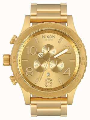 Nixon 51-30计时|全金|黄金ip手链|金表盘 A083-502-00