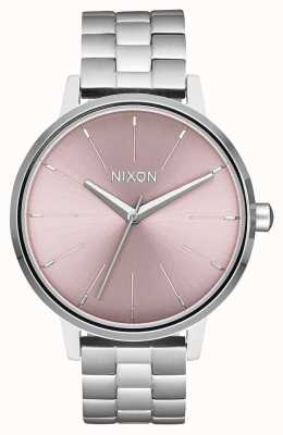 Nixon 肯辛顿|银/淡紫色|不锈钢表盘 A099-2878-00
